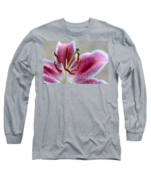 Stargazer Lily Long Sleeve T-Shirt