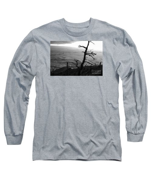 Long Sleeve T-Shirt featuring the photograph Stark Tree by Mary Carol Story