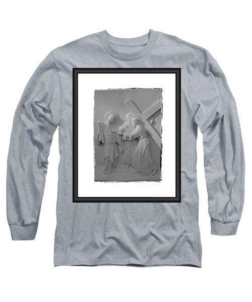 Station V I Long Sleeve T-Shirt by Sharon Elliott