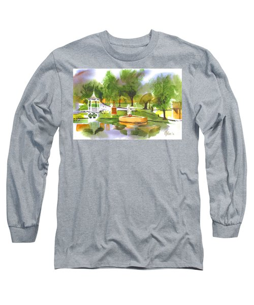 Ste Marie Du Lac In Watercolor II Long Sleeve T-Shirt