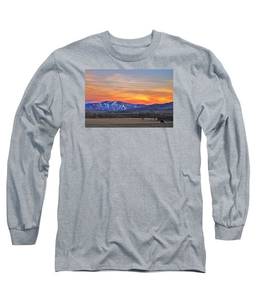 Steamboat Alpenglow Long Sleeve T-Shirt by Matt Helm