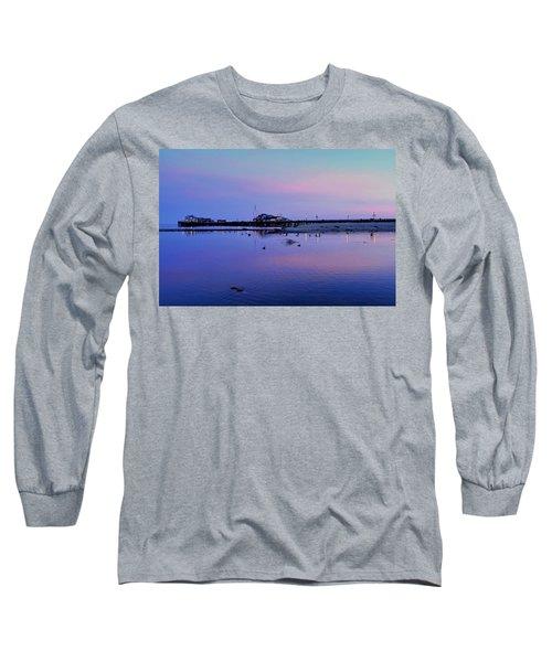 Stearn's Wharf Over Pond Long Sleeve T-Shirt
