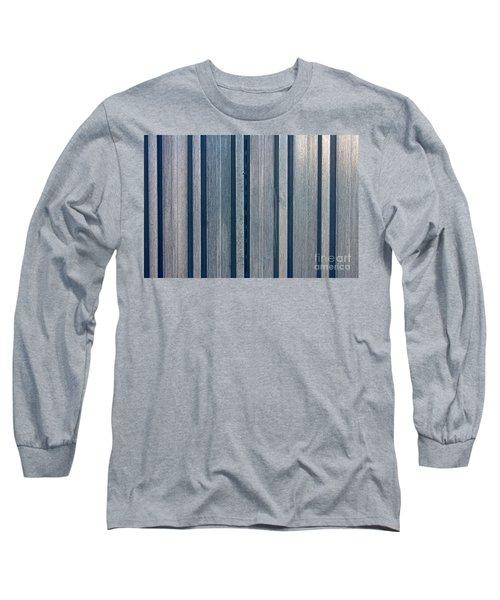 Steel Sheet Piling Wall Long Sleeve T-Shirt