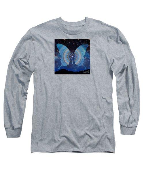 Stellar Butterfly Long Sleeve T-Shirt