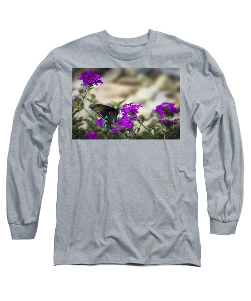 Still Beautiful Swallowtail Long Sleeve T-Shirt