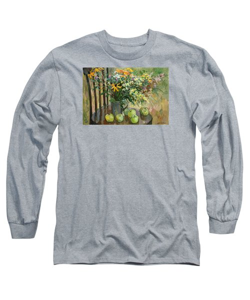 Stilllife With Apples Long Sleeve T-Shirt