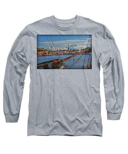 Stockholm Long Sleeve T-Shirt by Hanny Heim