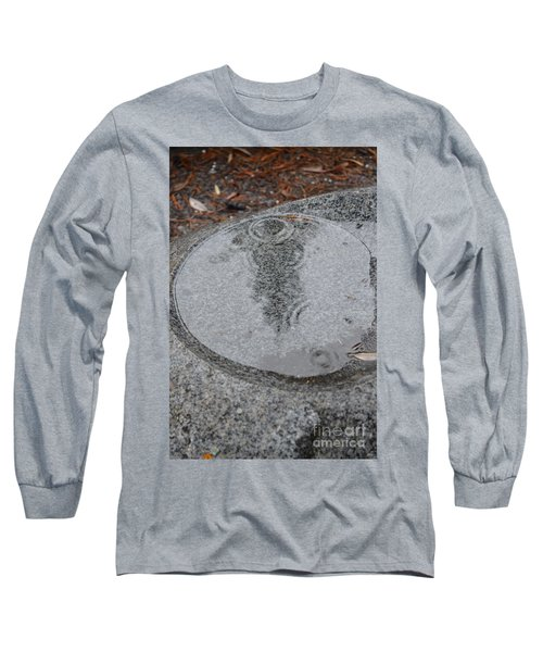 Long Sleeve T-Shirt featuring the photograph Stone Pool Angel by Brian Boyle