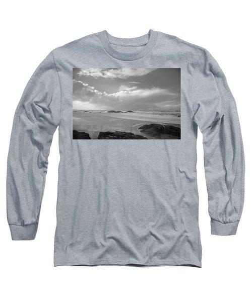 Storm Approaching Long Sleeve T-Shirt by Roxy Hurtubise