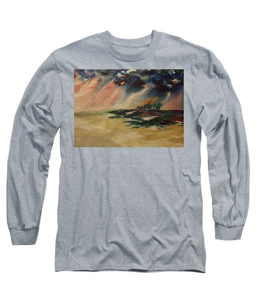 Storm In The Heartland Long Sleeve T-Shirt