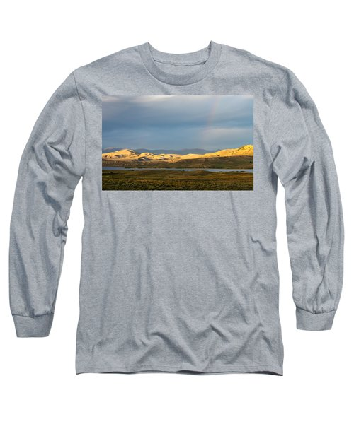 Stormy Sky With Rays Of Sunshine Long Sleeve T-Shirt