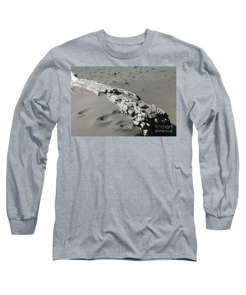 Long Sleeve T-Shirt featuring the photograph Stranded by Christiane Hellner-OBrien