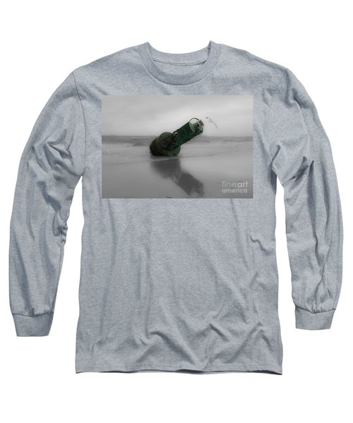 Long Sleeve T-Shirt featuring the photograph Stranded Too by Angela DeFrias