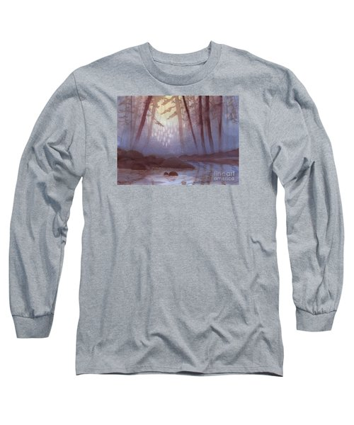 Stream In Mist Long Sleeve T-Shirt