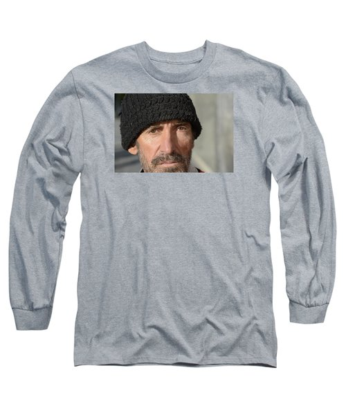 Street People - A Touch Of Humanity 24 Long Sleeve T-Shirt by Teo SITCHET-KANDA