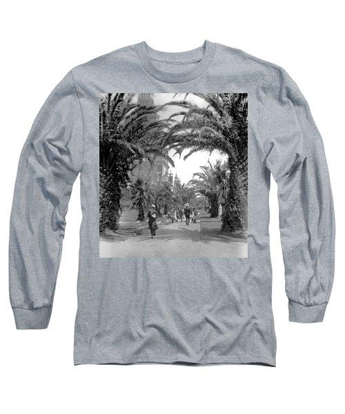 Avenue Of The Palms, San Francisco Long Sleeve T-Shirt