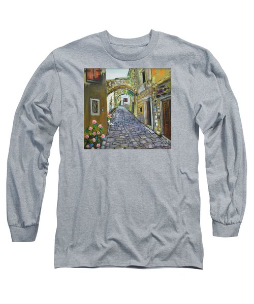 Street View In Pula Long Sleeve T-Shirt