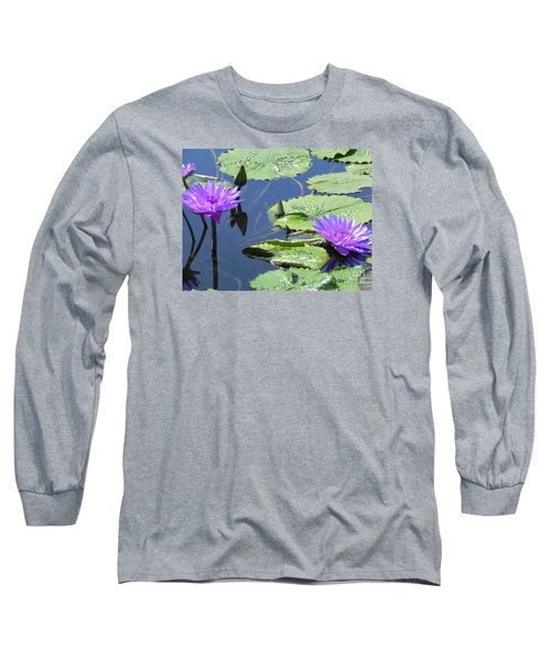 Long Sleeve T-Shirt featuring the photograph Striking Silhouettes by Chrisann Ellis