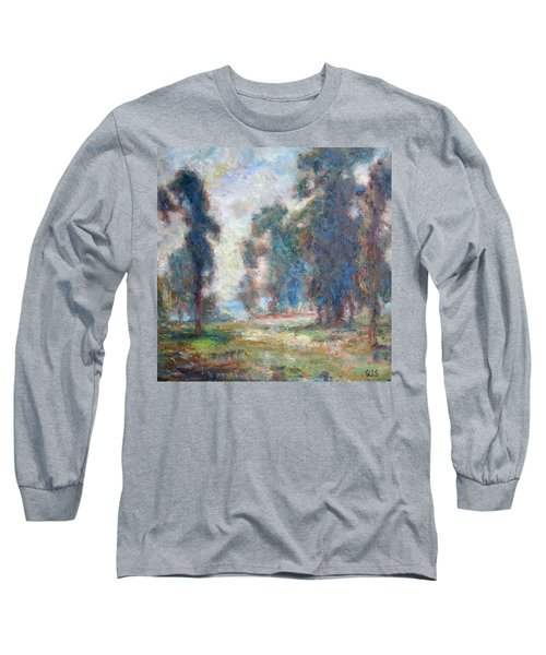 Study Of An Impressionist Master Long Sleeve T-Shirt