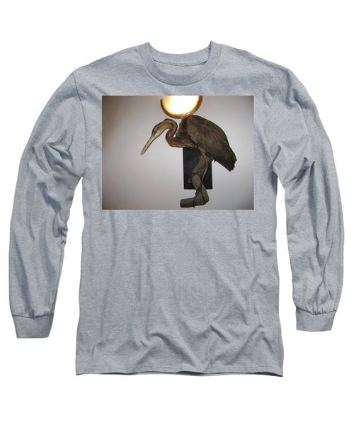 Stuffed Bird Long Sleeve T-Shirt