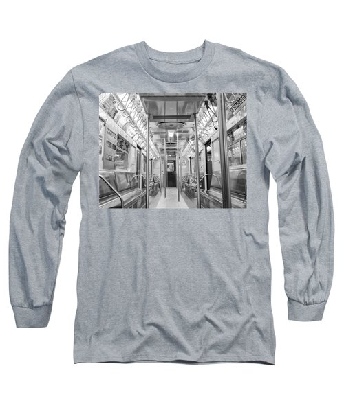 New York City - Subway Car Long Sleeve T-Shirt