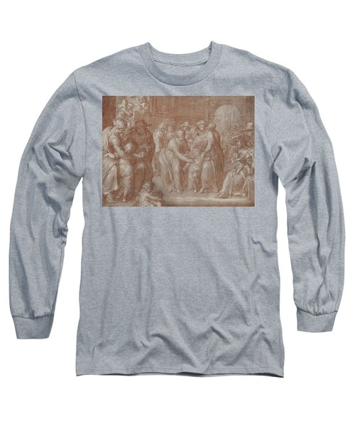 Suffer The Little Children To Come Unto Me Long Sleeve T-Shirt