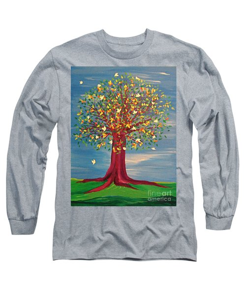 Summer Fantasy Tree Long Sleeve T-Shirt