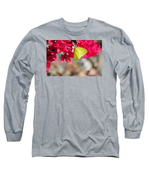 Summer Garden II In Watercolor Long Sleeve T-Shirt