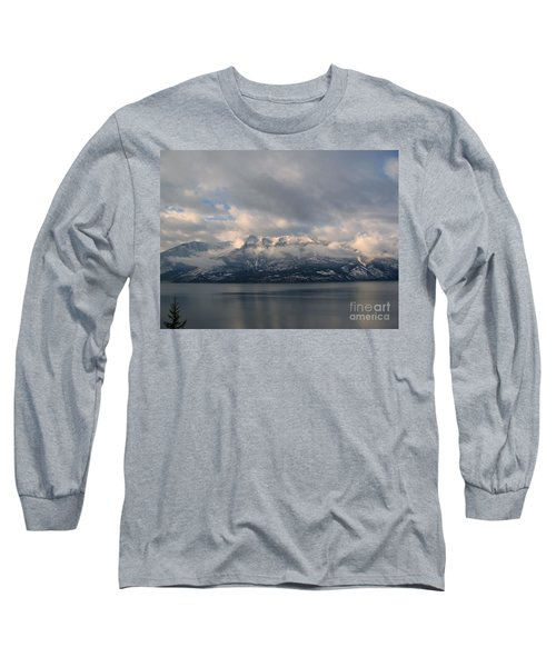 Sun On The Mountains Long Sleeve T-Shirt