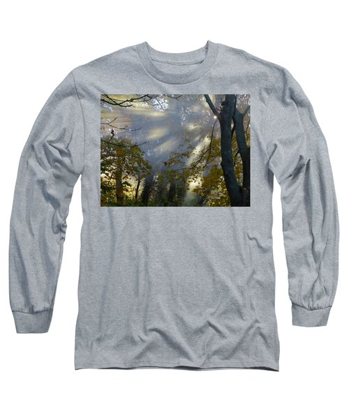 Long Sleeve T-Shirt featuring the photograph Sunbeam Morning by Dianne Cowen