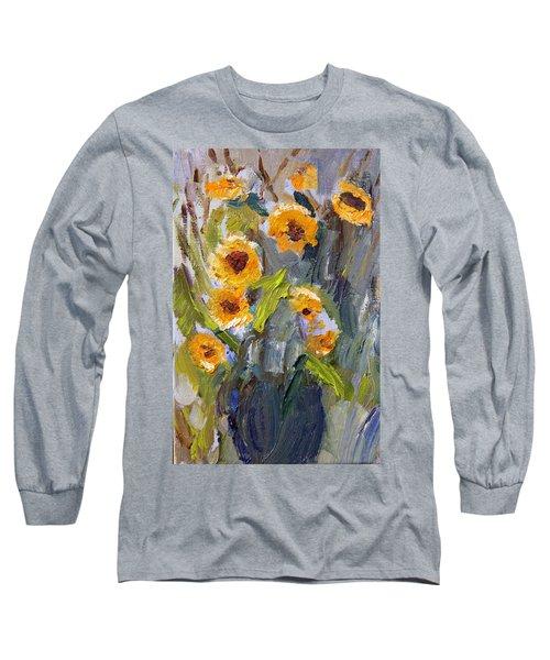 Sunflower Bouquet Long Sleeve T-Shirt