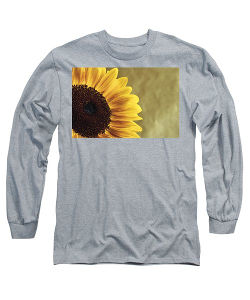 Sunflower Long Sleeve T-Shirt by Lana Enderle