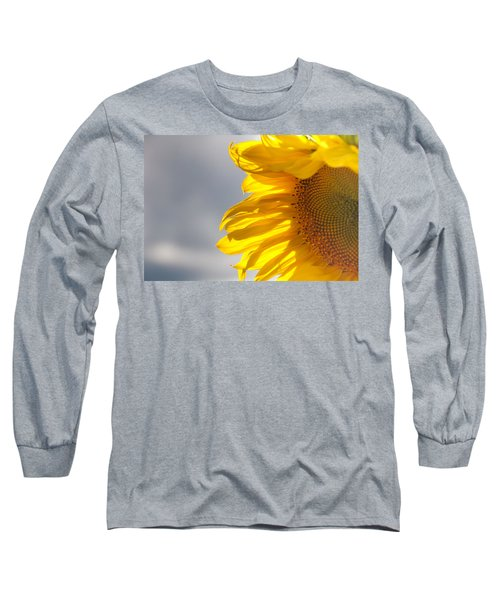 Long Sleeve T-Shirt featuring the photograph Sunny Sunflower by Cheryl Baxter