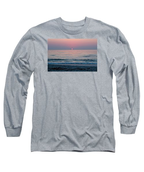 Long Sleeve T-Shirt featuring the photograph Sunrise Blush by Julie Andel