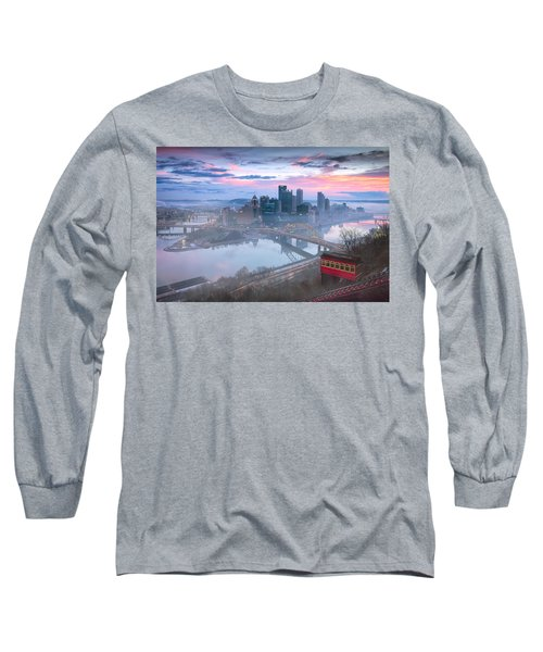 Pittsburgh Fall Day Long Sleeve T-Shirt by Emmanuel Panagiotakis