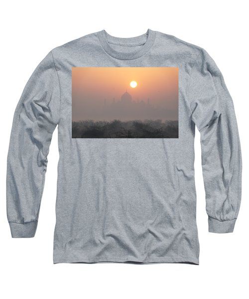 Sunrise Over The Taj Long Sleeve T-Shirt