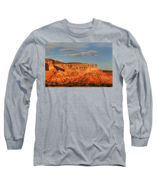 Long Sleeve T-Shirt featuring the photograph Sunset At Ghost Ranch by Alan Vance Ley