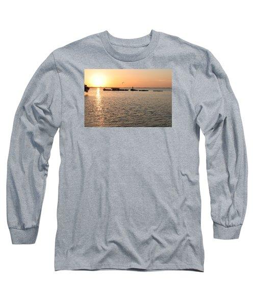 Sunset Fish Long Sleeve T-Shirt