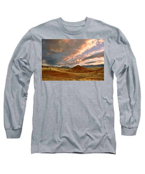 Sunset Hill Long Sleeve T-Shirt by Sonya Lang