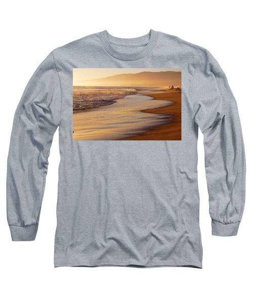 Sunset On A Beach Long Sleeve T-Shirt