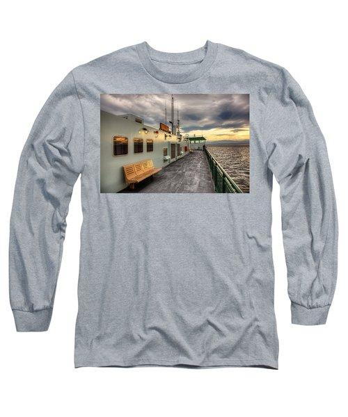 Sunset On Salish Long Sleeve T-Shirt