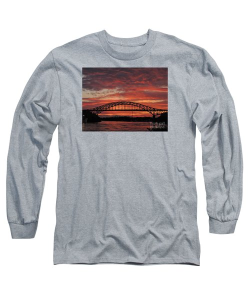 Sunset On The Piscataqua         Long Sleeve T-Shirt