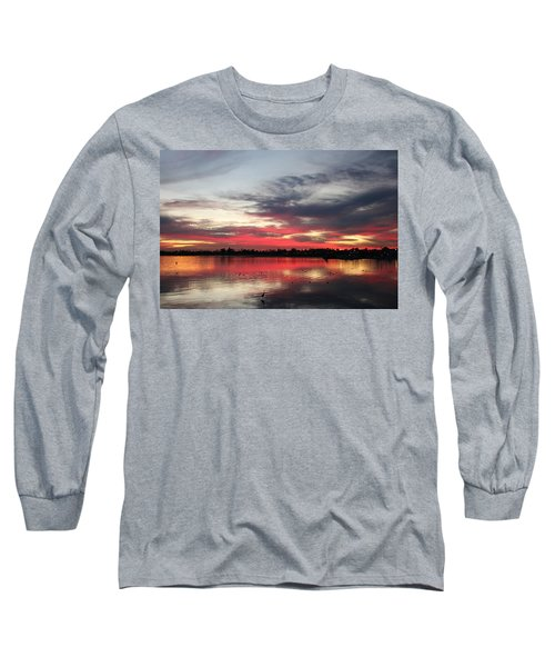 Sunset Over Mission Bay  Long Sleeve T-Shirt