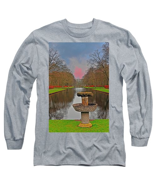 Sunset Over The Garden Long Sleeve T-Shirt