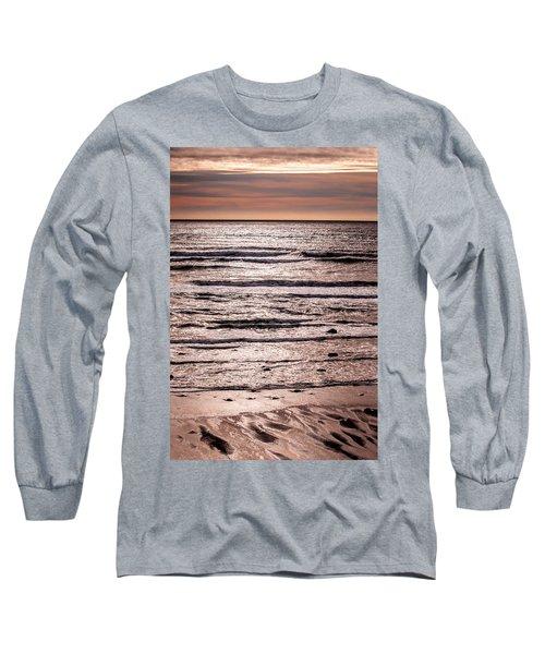 Sunset Ocean Long Sleeve T-Shirt by Roxy Hurtubise