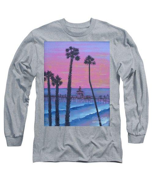Sunset Pier Long Sleeve T-Shirt