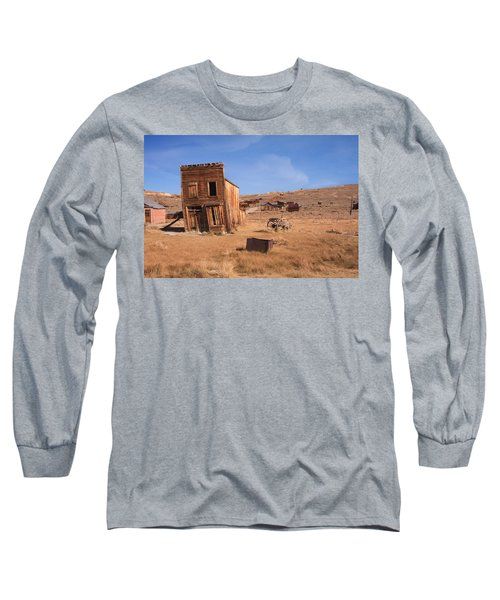Swazey Hotel Bodie Ghost Town Long Sleeve T-Shirt