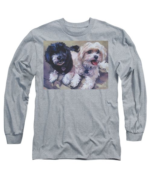 Sweet Havanese Long Sleeve T-Shirt by Lee Ann Shepard