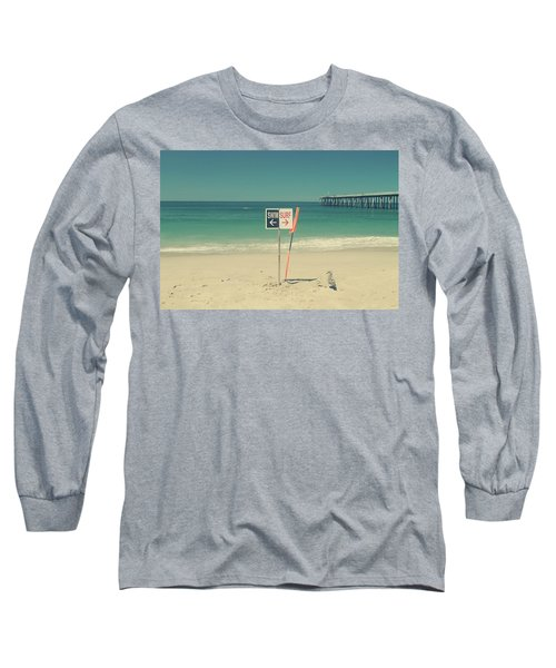 Swim And Surf Long Sleeve T-Shirt