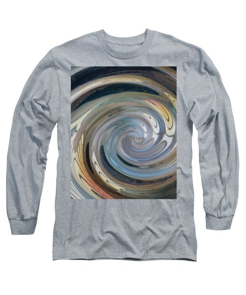 Long Sleeve T-Shirt featuring the photograph Swirl by Diane Alexander